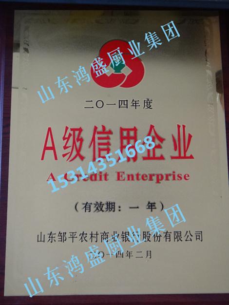 A级信用企业
